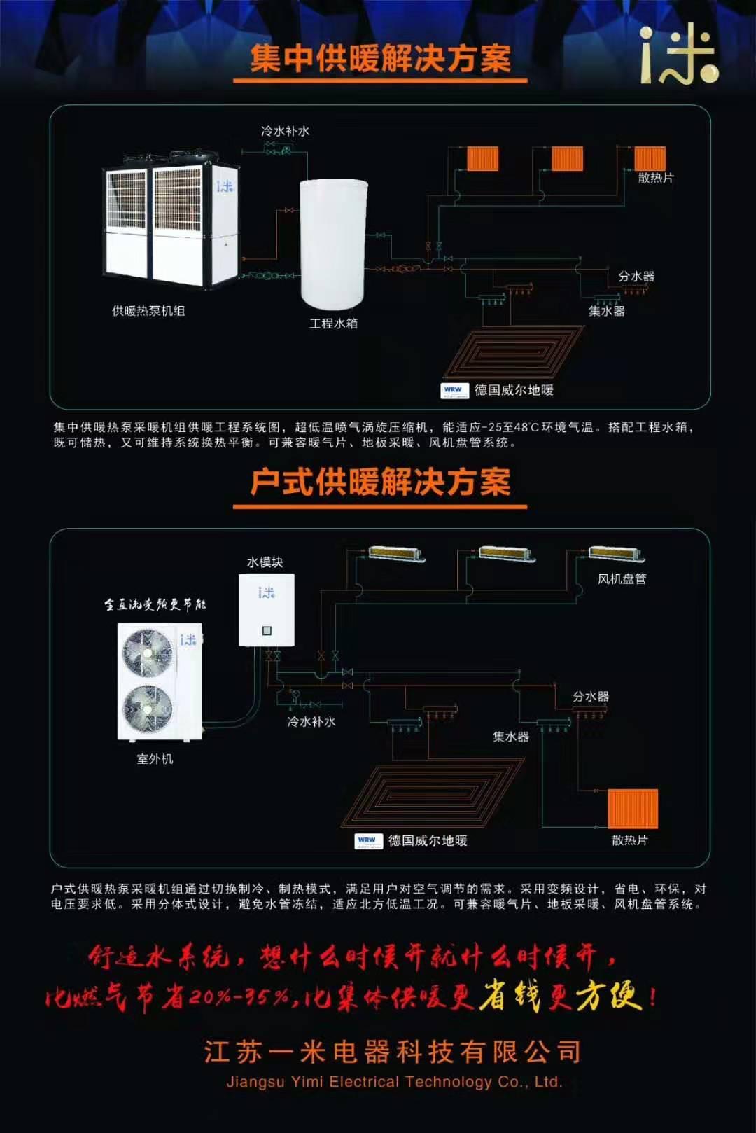 米舒适水空调系统(两联供系统)